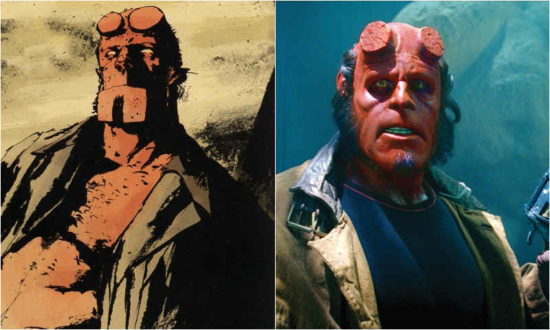 Image result for Ron Perlman hellboy comic book