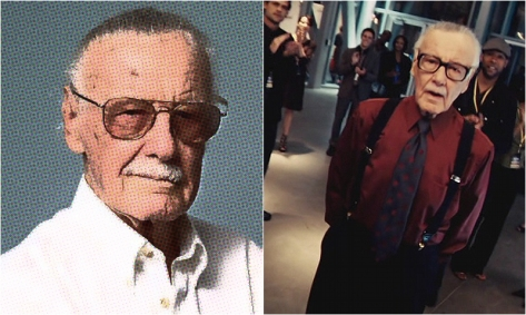 Image result for stan lee as larry king