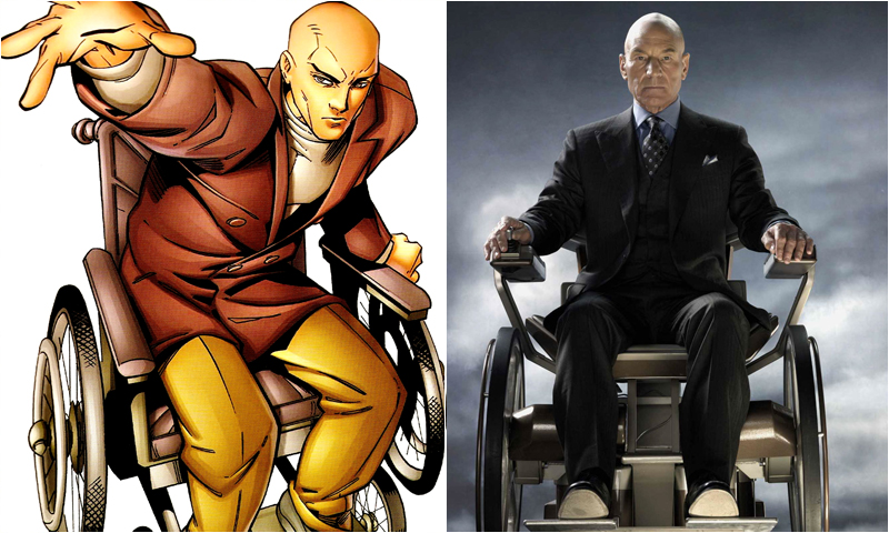Image result for Patrick Stewart as professor x