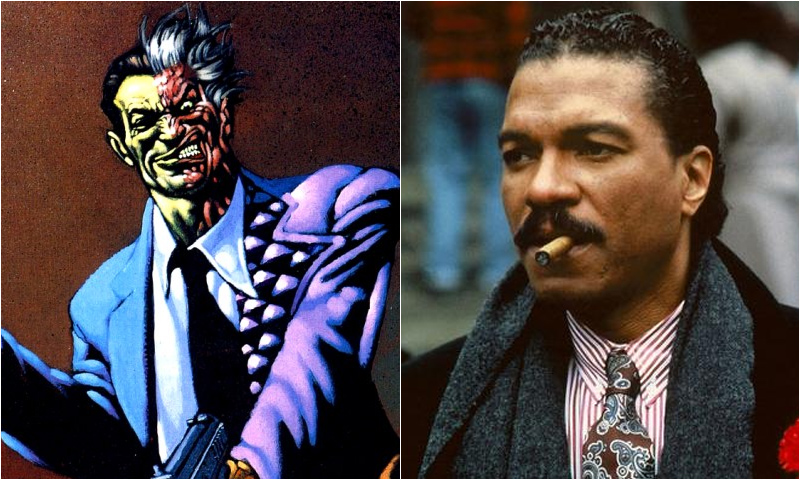 twoface � billy dee williams comic icons
