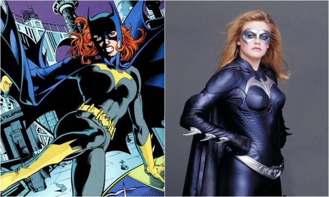batgirl � alicia silverstone comic icons