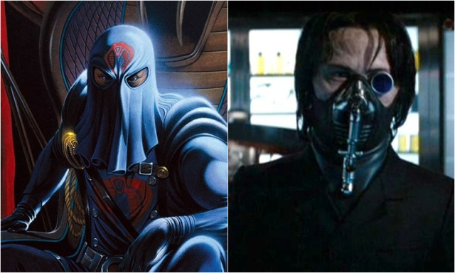 Cobra Commander Joseph Gordon Levitt Comic Icons