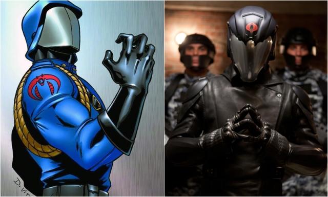 Cobra Commander Luke Bracey Comic Icons