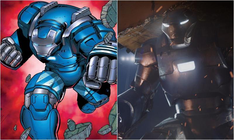 how to create iron man