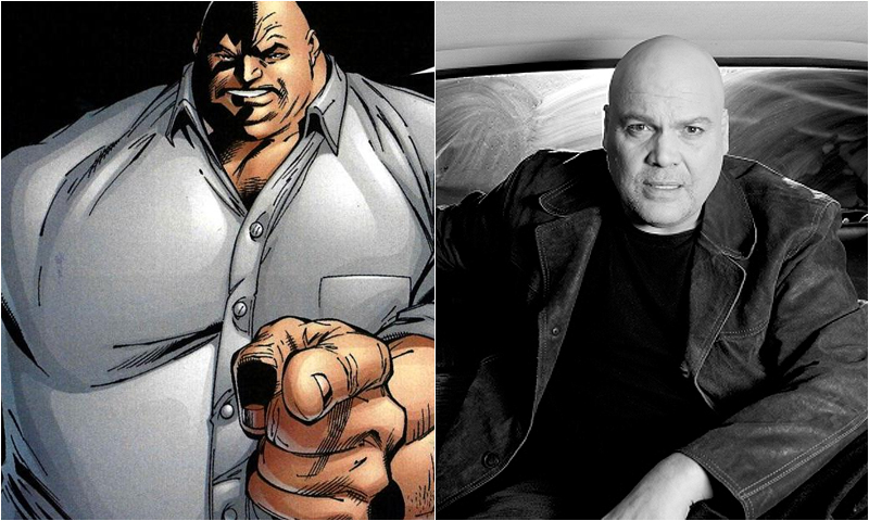 Kingpin Vincent D Onofrio Comic Icons