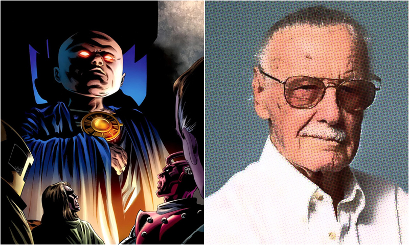 Image result for stan lee uatu