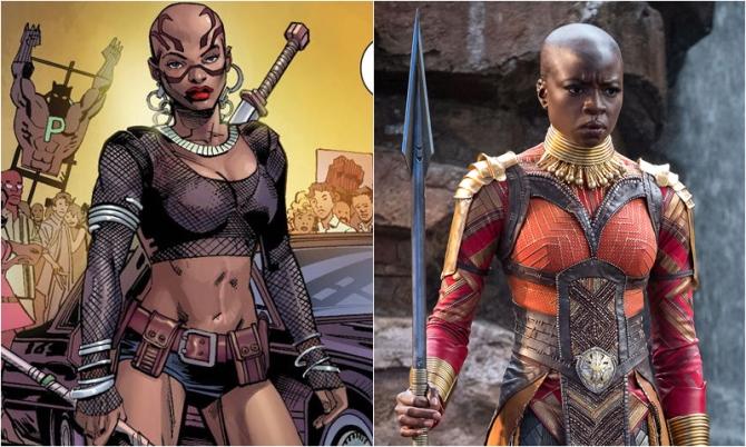 Okoye – Danai Gurira | Comic Icons