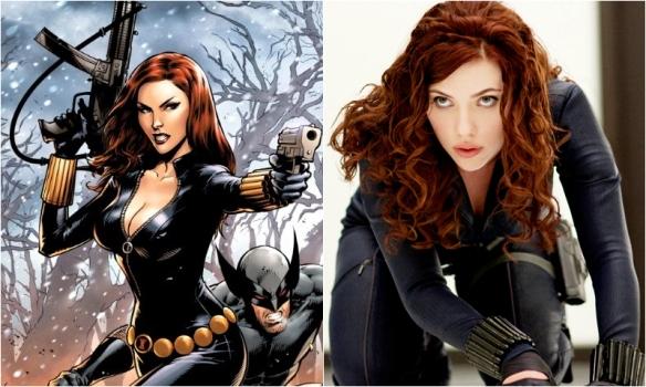 Black Widow – Scarlett Johansson | Comic Icons